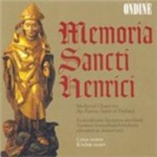 Memoria Sancti Henrici, Medieval Plainchant to the Patron Saint of Finland - CD Audio