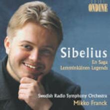 En Saga - Lemminkäinen Suite - CD Audio di Jean Sibelius,Mikko Franck,Swedish Radio Symphony Orchestra
