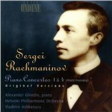 Concerti per pianoforte n.1, n.4 - CD Audio di Sergej Vasilevich Rachmaninov