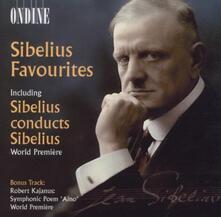 Sibelius Favourites. Sibelius conducts Sibelius - CD Audio di Jean Sibelius