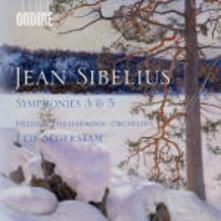 Sinfonie n.3, n.5 - CD Audio di Jean Sibelius,Leif Segerstam,Helsinki Philharmonic Orchestra