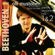 Concerti per pianoforte n.1, n.2 - SuperAudio CD ibrido di Ludwig van Beethoven,Olli Mustonen,Tapiola Sinfonietta
