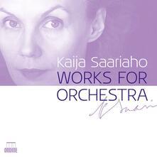 Musica orchestrale - CD Audio di Kaija Saariaho