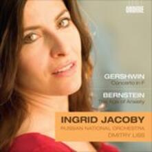 Concerto per Pianoforte - CD Audio di George Gershwin,Ingrid Jacoby