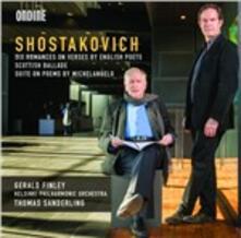 Songs - CD Audio di Dmitri Shostakovich