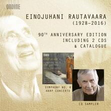 90th Anniversary Edition ( + Catalogo) - CD Audio di Einojuhani Rautavaara