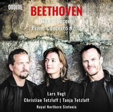 Concerto triplo op.56 - Concerto per pianoforte n.3 op.37 - CD Audio di Ludwig van Beethoven,Lars Vogt