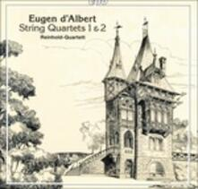 Quartetti per Archi n.1, n.2 - CD Audio di Eugen D'Albert