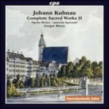 Musica sacra completa vol.2 - CD Audio di Johann Kuhnau