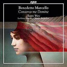 Conserva Me Domine. Opere sacre - CD Audio di Benedetto Marcello