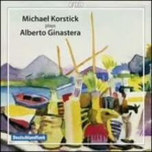 Musica per pianoforte - CD Audio di Alberto Ginastera