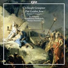 Das Leiden Jesu. Cantate per la Passione del 1741 - CD Audio di Johann Christoph Graupner