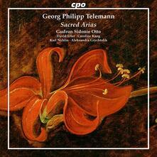Arie Sacre - CD Audio di Georg Philipp Telemann