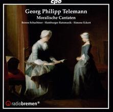 Moralische Cantaten - CD Audio di Georg Philipp Telemann
