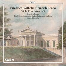 Concerti per viola n.1, n.2, n.3 - CD Audio di Frantisek Benda,Bernard Labadie,SWR Sinfonieorchester Baden-Baden und Freiburg