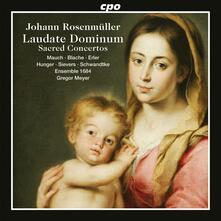 Concerti sacri - CD Audio di Johann Rosenmüller,Ensemble 1684