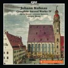 Musica Sacra Completa vol.4 - CD Audio di Johann Kuhnau