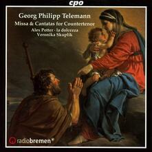Missa & Cantatas - CD Audio di Georg Philipp Telemann,Alex Potter