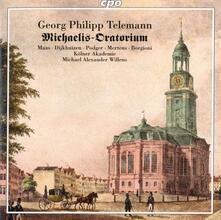 Oratorio St. Michaelis-Kirche - CD Audio di Georg Philipp Telemann,Kölner Akademie