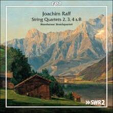 Quartetti per Archi, vol.2 - CD Audio di Joachim Raff,Mannheimer Streichquartett