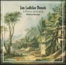 Sonate per pianoforte - CD Audio di Jan Ladislav Dussek