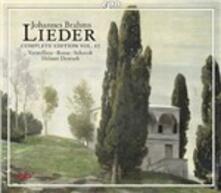 Lieder vol.10 - CD Audio di Johannes Brahms,Juliane Banse,Andreas Schmidt,Iris Vermillion,Helmut Deutsch