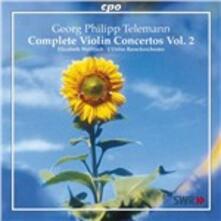 Concerti per violino vol.2 - CD Audio di L' Orfeo Barockorchester,Michi Gaigg