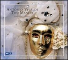 Tito Manlio - CD Audio di Antonio Vivaldi,Federico Maria Sardelli,Modo Antiquo