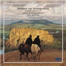 Sinfonie n.1, n.2 - CD Audio di Heinrich von Herzogenberg,Frank Beermann,NDR Radiophilharmonie
