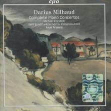 Opere per pianoforte complete - CD Audio di Darius Milhaud