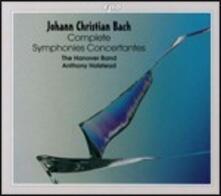 Sinfonie concertanti complete - CD Audio di Johann Christian Bach,Anthony Halstead,Hanover Band