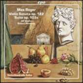 CD Opere per violino e pianoforte Max Reger Roland Pöntinen Ulf Wallin