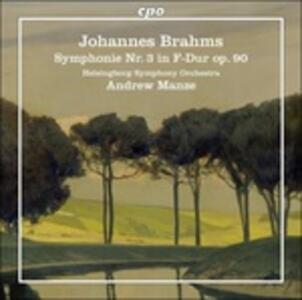 Sinfonia N.3 - Vinile LP di Johannes Brahms,Andrew Manze,Helsingborg Symphony Orchestra