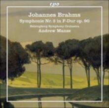 Sinfonia N.3 (180 gr.) - Vinile LP di Johannes Brahms,Andrew Manze,Helsingborg Symphony Orchestra