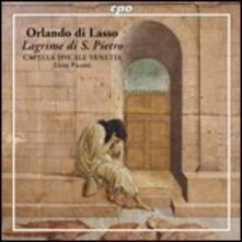 Lagrime di S. Pietro - CD Audio di Orlando Di Lasso