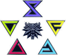 Witcher Enamel Pin Set