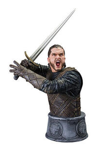 Game Of Thrones - Bust Jon Snow Battle Of The Bastards 15Cm !