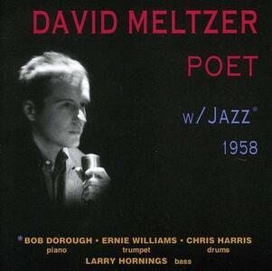 CD Poet with Jazz David Meltzer