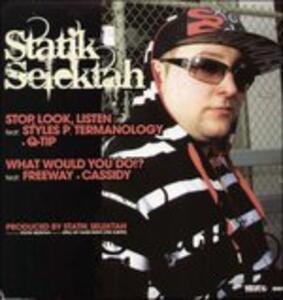 No Holding Back - Vinile LP di Statik Selektah