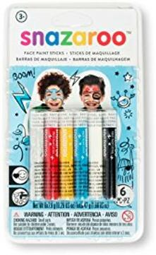 Ceroncini Sticks Per Viso Boys Set Di 6