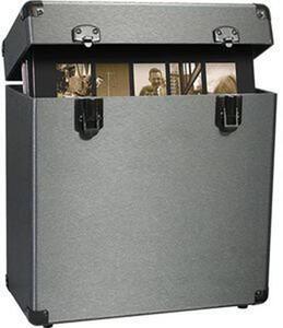 Porta Lp Vinyl Styl. Groove Record Carrying Case Graphite