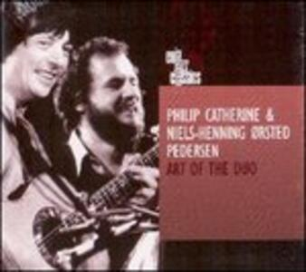 CD Art of the Duo Philip Catherine Niels-Henning Orsted Pedersen