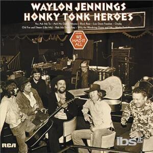 Honky Tonk Heroes - Vinile LP di Waylon Jennings