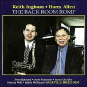 Back Room Romp - CD Audio di Keith Ingham