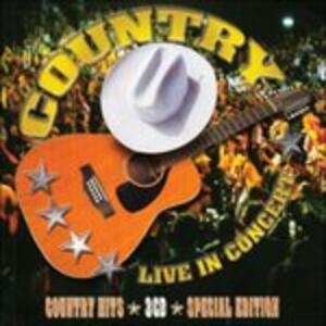 Country Live in Concert - CD Audio