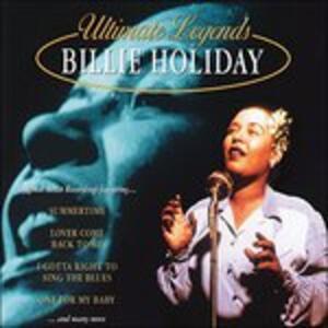 Ultimate Legends - CD Audio di Billie Holiday