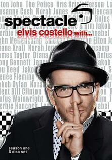 Elvis Costello. Spectacle Season 1 (5 DVD) - DVD