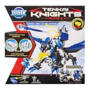 Giocattolo Tenkai Knights. 2 in 1 Animale Volante / Jet Ultra Tecnologico Spin Master