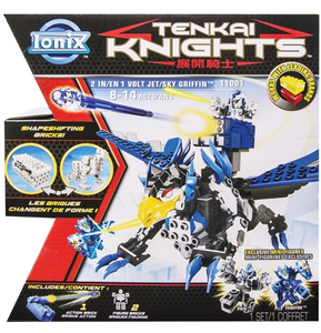 Giocattolo Tenkai 2 in 1 Jet/Sky Griffin Spin Master 0