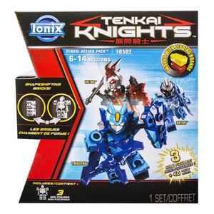 Giocattolo Tenkai Knights. Battle Pack 3 Mini Figure Spin Master